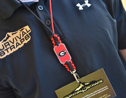 Neck ID Lanyard - Officially Licensed - Georgia® Bulldogs®
