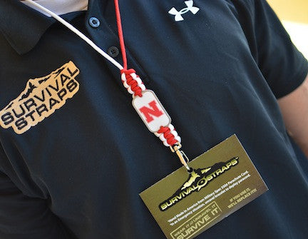Neck ID Lanyard - Officially Licensed - Nebraska® Huskers®