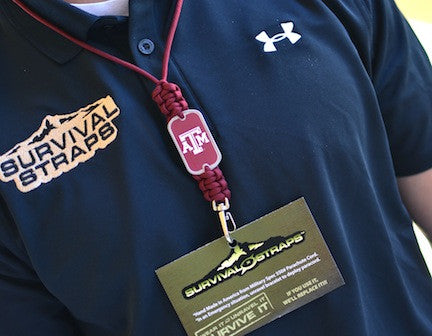 Neck ID Lanyard - Officially Licensed - Texas A&M®