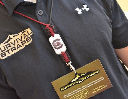 Neck ID Lanyard - Officially Licensed - South Carolina Gamecocks™
