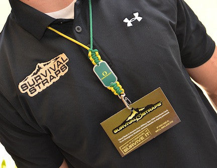 Neck ID Lanyard - Officially Licensed - Oregon Ducks®