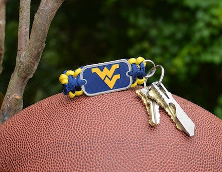 Key Fob - Officially Licensed - West Virginia®  Mountaineers®