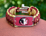 Wide Survival Bracelet™ - Officially Licensed - FSU® Seminoles®