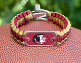 Light Duty Survival Bracelet™ - Officially Licensed - FSU® Seminoles®