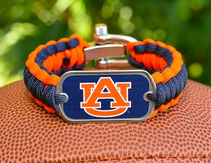 Regular Survival Bracelet™ - Officially Licensed - Auburn Tigers®