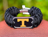 Wide Survival Bracelet - Officially Licensed - Tennessee Volunteers®