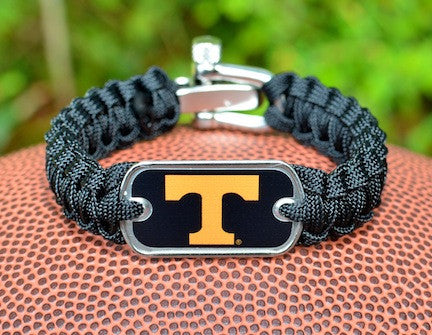 Light Duty Survival Bracelet - Officially Licensed - Tennessee Volunteers®