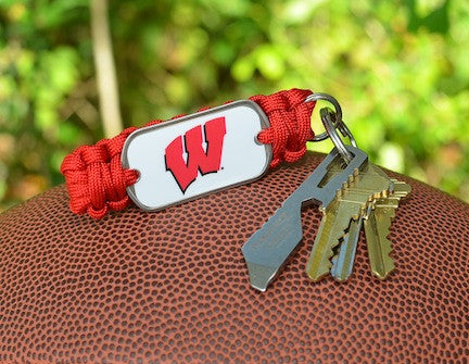 Key Fob - Officially Licensed - Wisconsin Badgers®