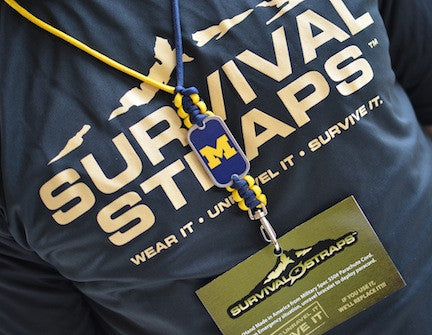 Neck ID Lanyard - Officially Licensed - Michigan Wolverines™