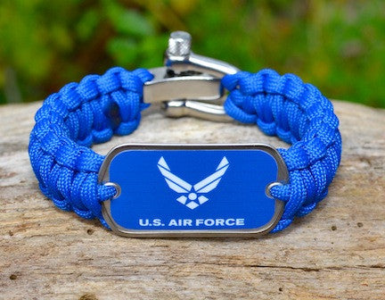 Regular Survival Bracelet™ - Officially Licensed - US Air Force