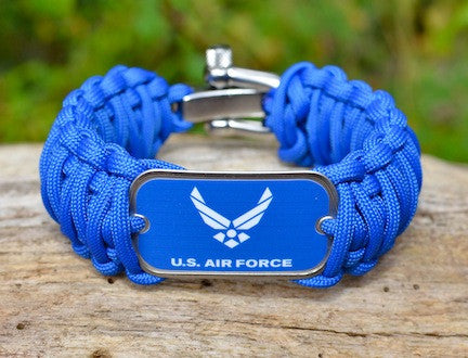 Wide Survival Bracelet™ - Officially Licensed - US Air Force
