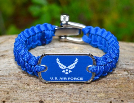 Light Duty Survival Bracelet™ - Officially Licensed - US Air Force