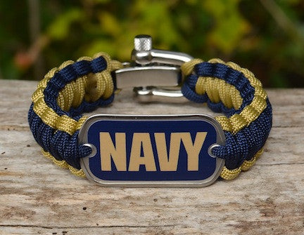Regular Survival Bracelet - Officially Licensed - U.S. Navy - V1
