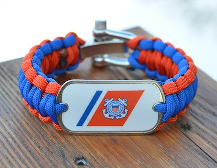 Regular Survival Bracelet - Officially Licensed - U.S. Coast Guard™
