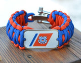 Wide Survival Bracelet - Officially Licensed - U.S. Coast Guard™