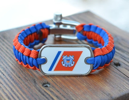 Light Duty Survival Bracelet - Officially Licensed - U.S. Coast Guard™