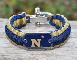 Regular Survival Bracelet™ - Officially Licensed - U.S. Naval Academy™
