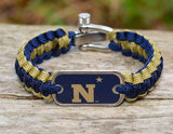 Light Duty Survival Bracelet™ - Officially Licensed - U.S. Naval Academy™