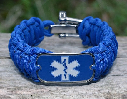 Wide Survival Bracelet™ - EMS Tag