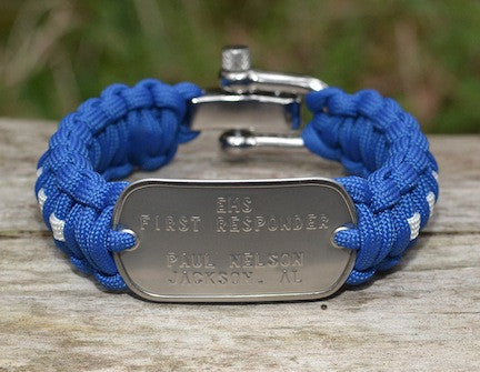 Regular Dog Tag Survival Bracelet™ - EMS