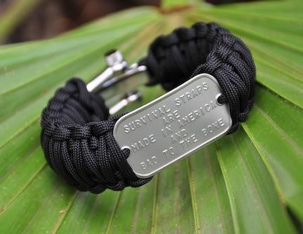 Wide Dog Tag Survival Bracelet™