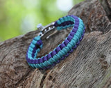 Light Duty Survival Bracelet™ - Tesori Family Foundation Custom Color