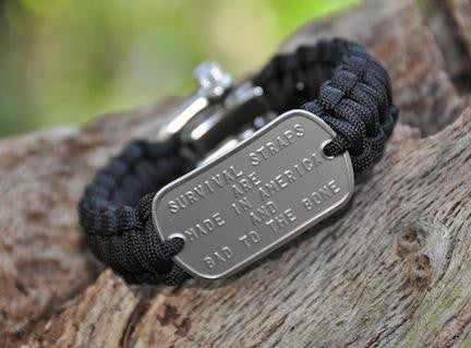 Regular Dog Tag Survival Bracelet™