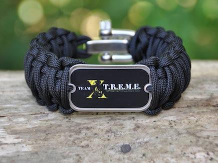 Wide Survival Bracelet - Team X-T.R.E.M.E.
