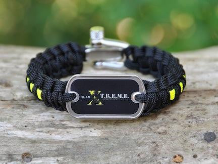Light Duty Survival Bracelet - Team X-T.R.E.M.E.