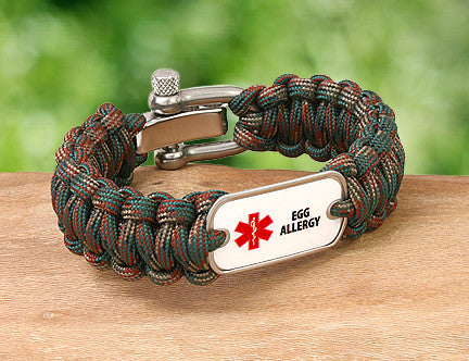 Regular Survival Bracelet™ - Medical Alert
