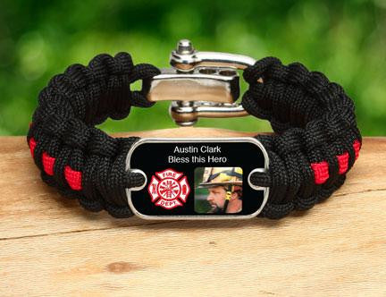 Regular Survival Bracelet™ - Firefighter Hero Picture