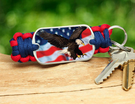 Key Fob - America Strong Eagle3 Logo