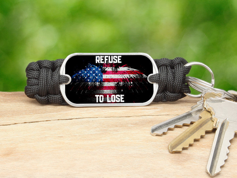 Key Fob - Refuse to Lose Eagle