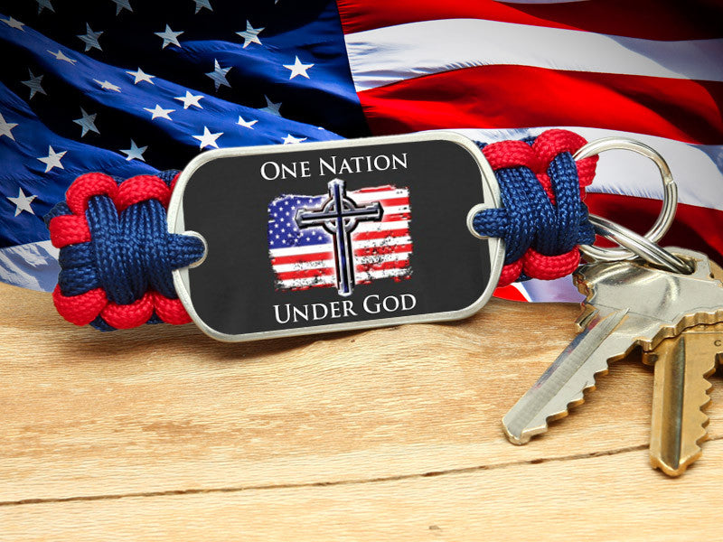 Key Fob - One Nation 2 - R. Patriot