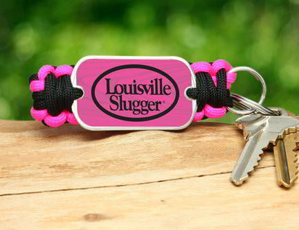 Key Fob - Louisville Slugger® - Black and Pink