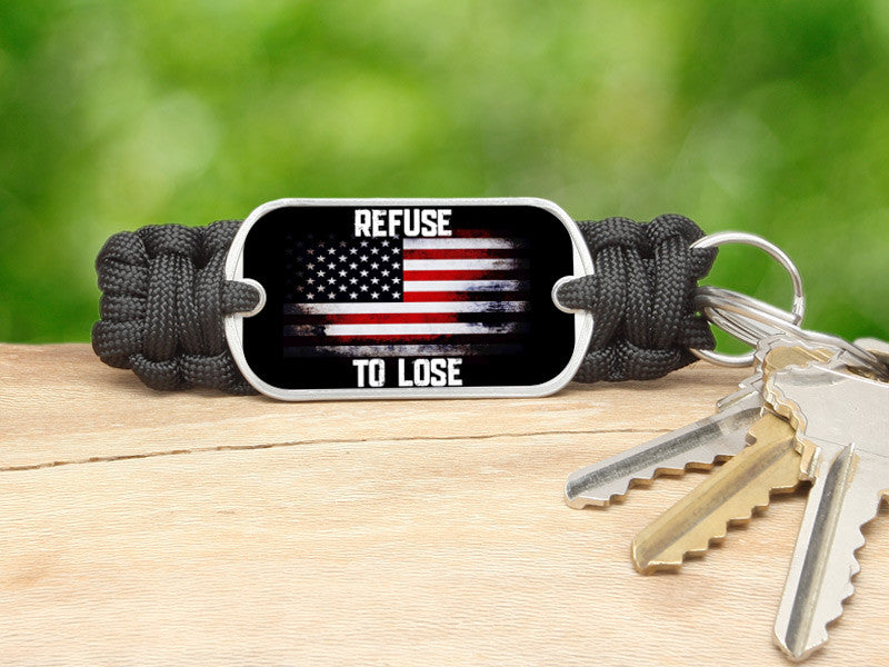 Key Fob - Refuse to Lose Flag