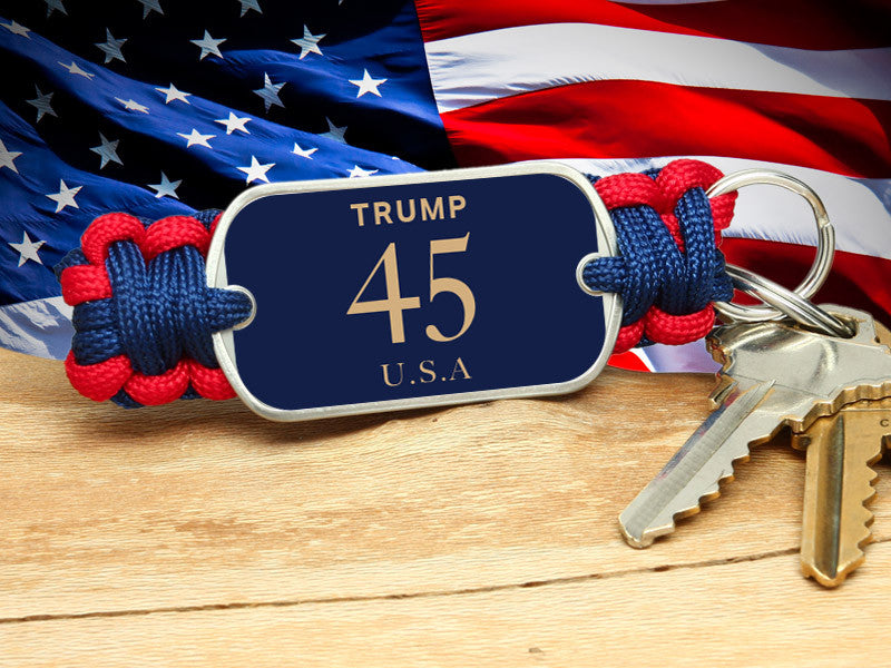 Key Fob - Trump 45 USA