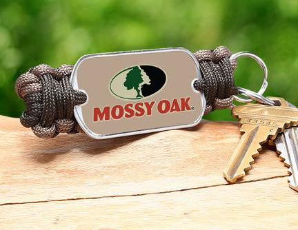 Key Fob - Mossy Oak® - OD Green and Desert Tan