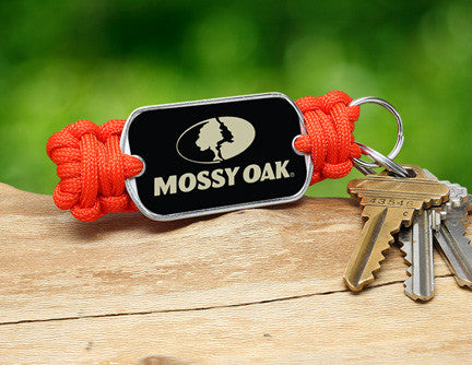 Key Fob - Mossy Oak® - Neon Orange