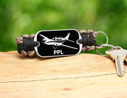 Key Fob - Private Pilot License Tag