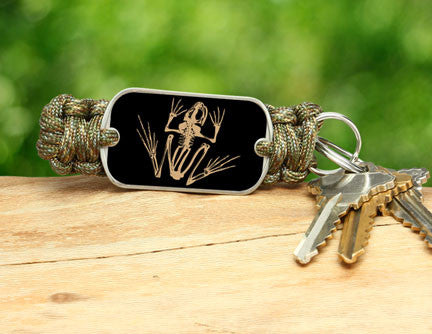 Key Fob - Navy SEAL Foundation - Bone Frog Matches Multicam®