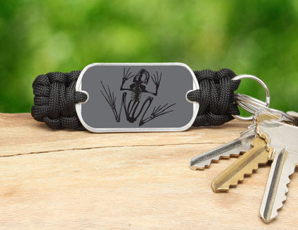 Key Fob - Navy SEAL Foundation - Bone Frog Stealth