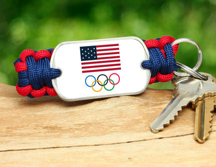 Key Fob - Team USA 5-Ring