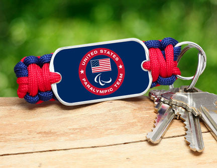 Key Fob - US Paralympic Team (Blue)