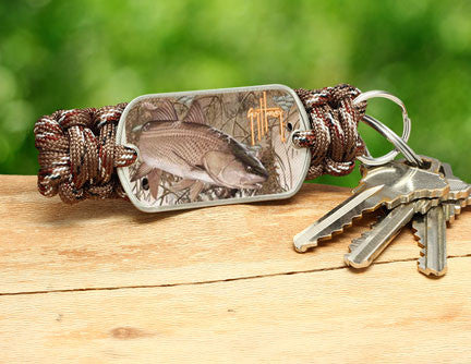 Key Fob-Guy Harvey-Redfish Camo
