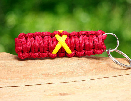 Key Fob - RED Friday Ribbon