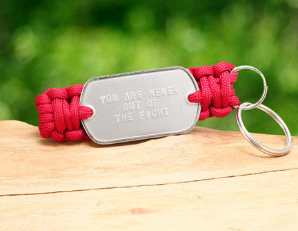 Key Fob - RED Friday Custom Embossed