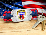 Key Fob - Bikers For Trump - R-Patriot