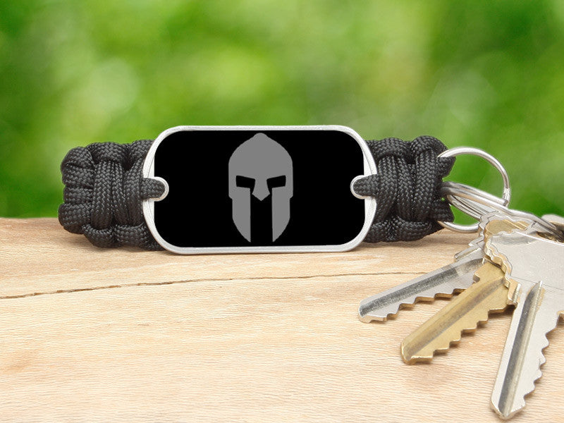 Key Fob - Spartan Gray