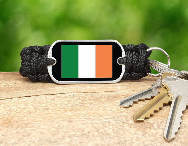 Key Fob - Irish Flag